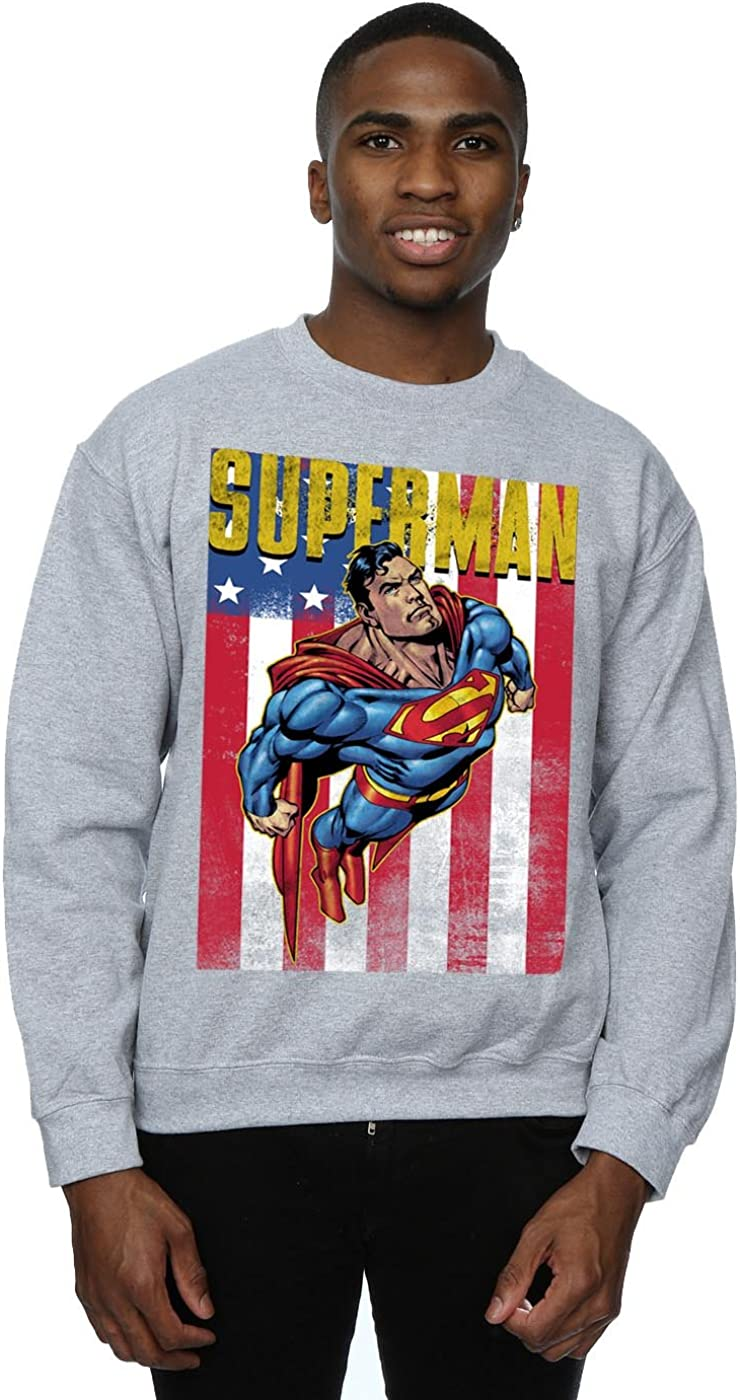 DC Comics Men's Superman Flight Sweatshirt