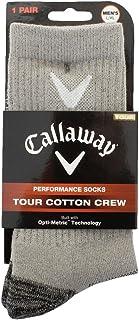 Tour Cotton Crew Calcetines deportivos, Gris (Gris 000), One Size (Tamaño del fabricante:L/XL) para Hombre