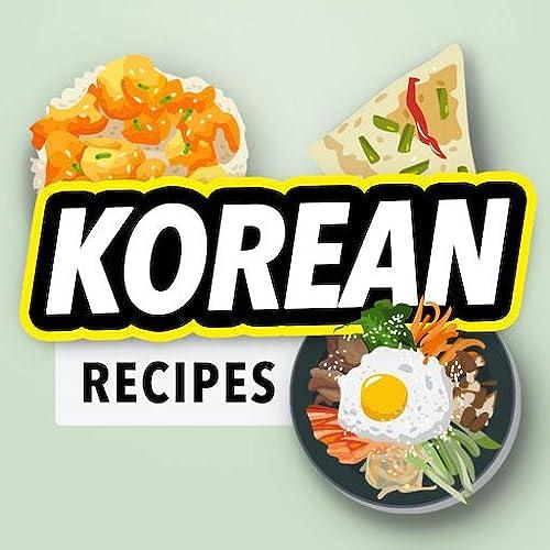 Livro de receitas coreano offline