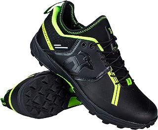 KOOKABURRA Unisex-Youth Team Hockey Shoes, Black, 3