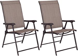 Best stackable sling outdoor dining chair Reviews