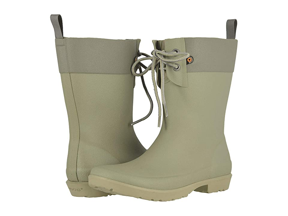Bogs Flora 2-Eye Boot (Sage) Women