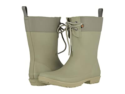 Bogs Flora 2-Eye Boot (Sage) Women