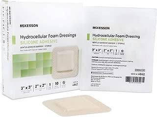 McKesson Hydrocellular Foam Dressing Silicone Adhesive Border 3