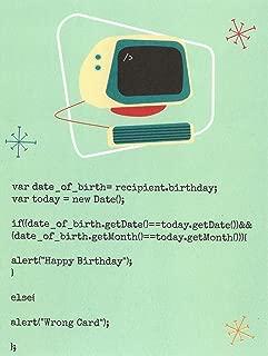 Javascript Computer Birthday Card (4.25