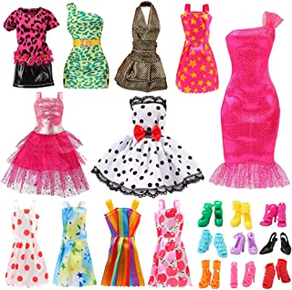 Bigib Set for 11 Ba-Girl Fashion Dolls Clothes Accessories - coolthings.us