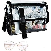 Yorssley Clear Purse Shoulder Messenger Bag