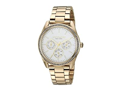 COACH Preston 14503266 (Gold Plated) Watches
