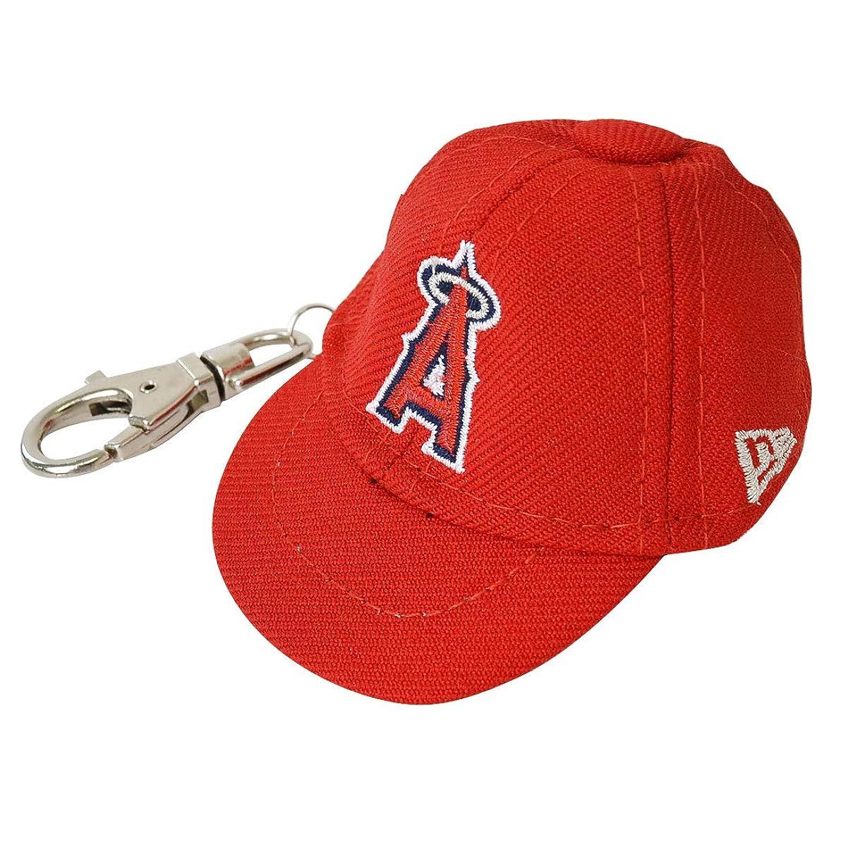 部吹雪ルー(ニューエラ)NEW ERA キーホルダー キャップ ミニ 59FIFTY NY ニューヨーク ヤンキース 帽子 鍵 ベースボール