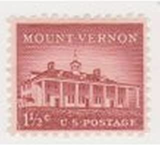 Proud American Sales Mount Vernon 1.5 Cent US Postage Stamps Scott #1032a Single