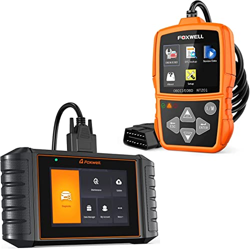 high quality FOXWELL NT201 Engine popular Code Reader and FOXWELL NT716 OBD2 Scanner ABS/SRS/Engine/Transmission 2021 Diagnoses outlet online sale