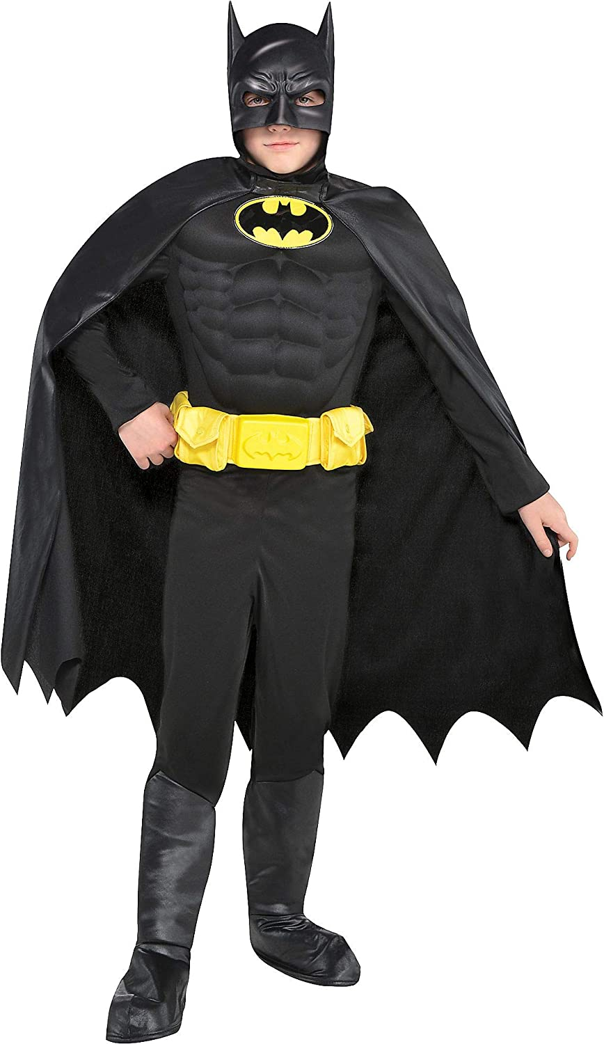 Suit Yourself Batman Muscle Costume Jumpsui Direct store Boys security for a Includes