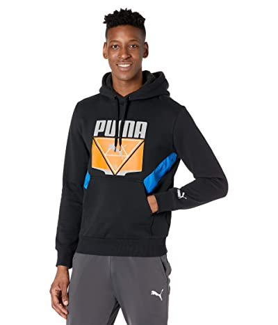 PUMA TFS Winterized Hoodie (Puma Black/Lapis Blue) Men