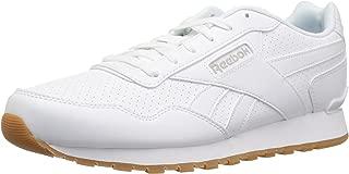 Reebok Men's Classic Harman Run Sneaker Us-White/Steel/Gum 3.5 D(M) US
