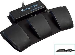 Kinesis Savant Elite2 Programmable Triple Foot Pedal (FP30AJ- with Extra 4th Jack)