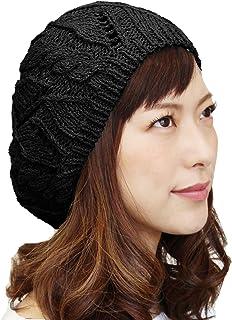 ベレー帽 レディース コットン 綿100% 大きめ ゆったり ニットベレー サマーベレー 秋 春 夏 おしゃれ 可愛い 涼しい 通気性 清涼 シンプル 選べるカラーバリエーション