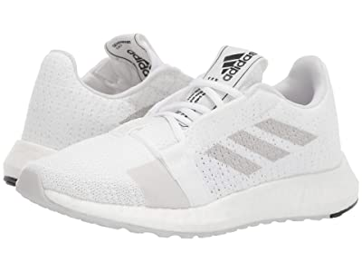 adidas Running SenseBOOST GO (Footwear White/Grey One/Core Black) Men