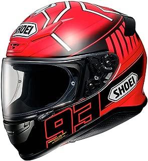 Shoei Marquez 3 RF-1200 Street Bike Racing Motorcycle Helmet - TC-1 / Large