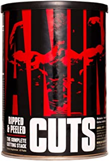 Universal Nutrition Animal Cuts – All-in-one Complete Fat Burner Supplement with Thermogenic and Metabolism Support - Ener...