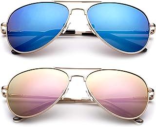 Polarized Kids Teens Juniors Aviator Polarized Sunglasses...
