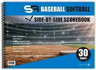 "SR Baseball / Softball Scorebook ""Side by Side"""