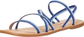 Lucky Brand Footwear Women's Bizell Sandal, BLUE MULTI, 5