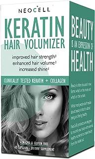 NeoCell - Keratin Hair Volumizer - 60 Capsules (Packaging May Vary)
