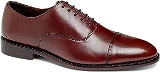 Men's Dress Shoe Clinton Cap-Toe Oxford Full Grain Leather Goodyear Welted