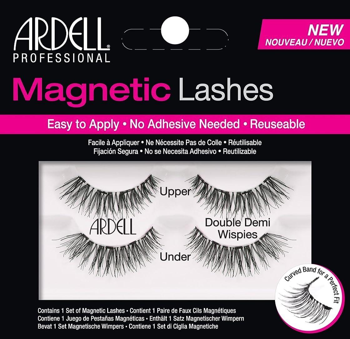 マウント第九驚かすARDELL Magnetic Lashes - Double Demi Wispies (並行輸入品)