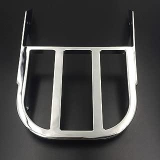 XKH- Chrome Sissy Bar Luggage Rack Compatible with 2002-2006 Honda VTX 1300C /2002-2011 Honda VTX 1800C /2005-2011 Honda VTX 1800F [B01G80QJNM]