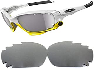 Galaxy lenses For Oakley Jawbone,Racing Jacket Polarized Titanium 100% UVAB