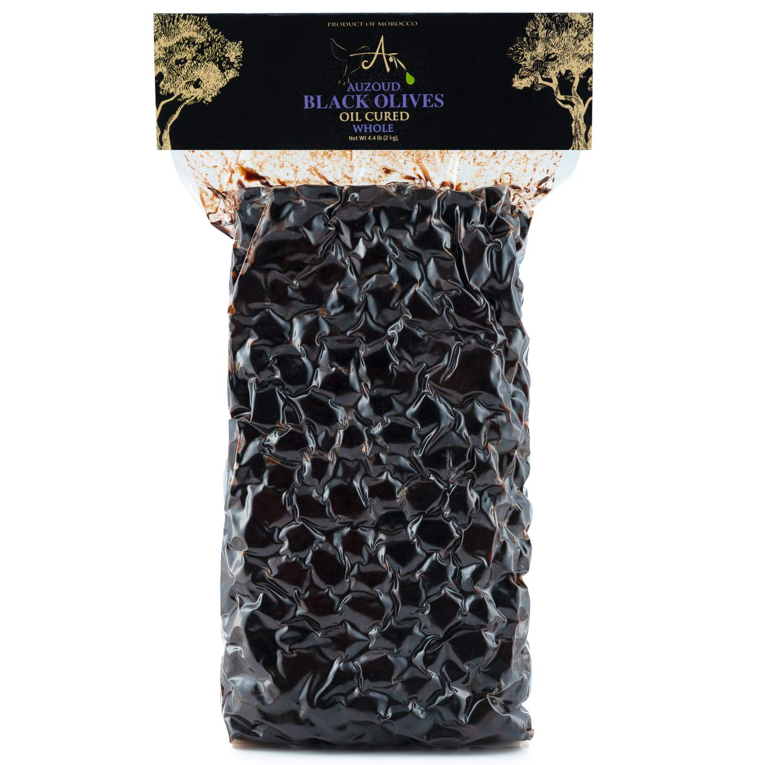 Auzoud Oil-Cured Black Olives Whole Wom North Tampa Mall latest African Supports