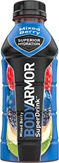 BODYARMOR Sports Drink Sports Beverage, Mixed Berry, Natural Flavors With Vitamins, Potassium-Packed Electrolytes, No Pres...