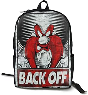 Unisex Backpack Cool Teenager Looney Tunes Yosemite Sam Black