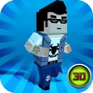 Pixel City Wars 3D: Crime City Game | Cube Craft 3D: Thug Game | Crafting Island: Pixel Fighter City Wars