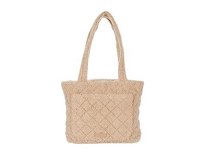 Vera Bradley Small Vera Tote (Ginger Snap) Handbags