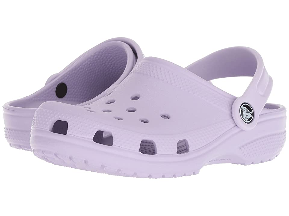 Crocs Kids Classic Clog (Toddler/Little Kid) (Lavender) Kids Shoes