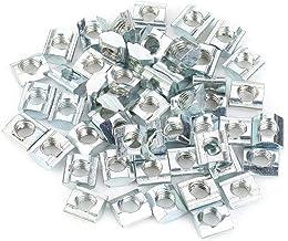 50 stuks wartelmoeren standaard van koolstofstaal voor accessoires van aluminiumprofielen serie 20 M6 x 10 x 5 Europese 20...