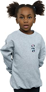 Disney Girls Minnie Mouse Dancing Chest Sweatshirt