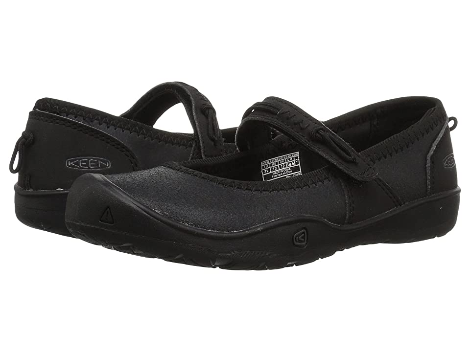 Keen Kids Moxie Mary Jane (Toddler/Little Kid) (Black/Jet Black) Girl