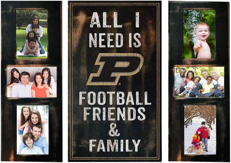 Fan Creations Purdue University Picture Frame Set I 3pc All Today's Max 54% OFF only Need