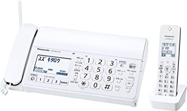 パナソニック おたっくす デジタルコードレスFAX 子機1台付き 1.9GHz DECT準拠方式 ホワイト KX-PD215DL-W