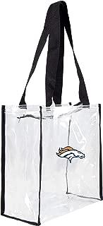 denver broncos clear reusable bag
