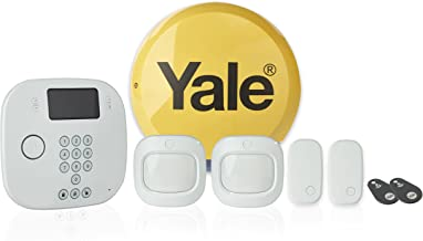 Yale IA-220 Intruder Alarm Kit, Phone Call Alerts, Contactless Control, White