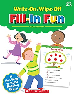 Write-On/Wipe-Off Fill-In Fun