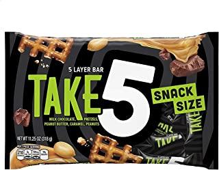 Take Five Snack Size Bars - 11.25 oz - 2 pk