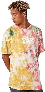 Huf Further Logo Tie Dye Short Sleeve T-Shirt