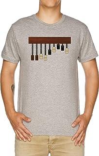 Vendax Las Barras De Tracción Camiseta Hombre Gris