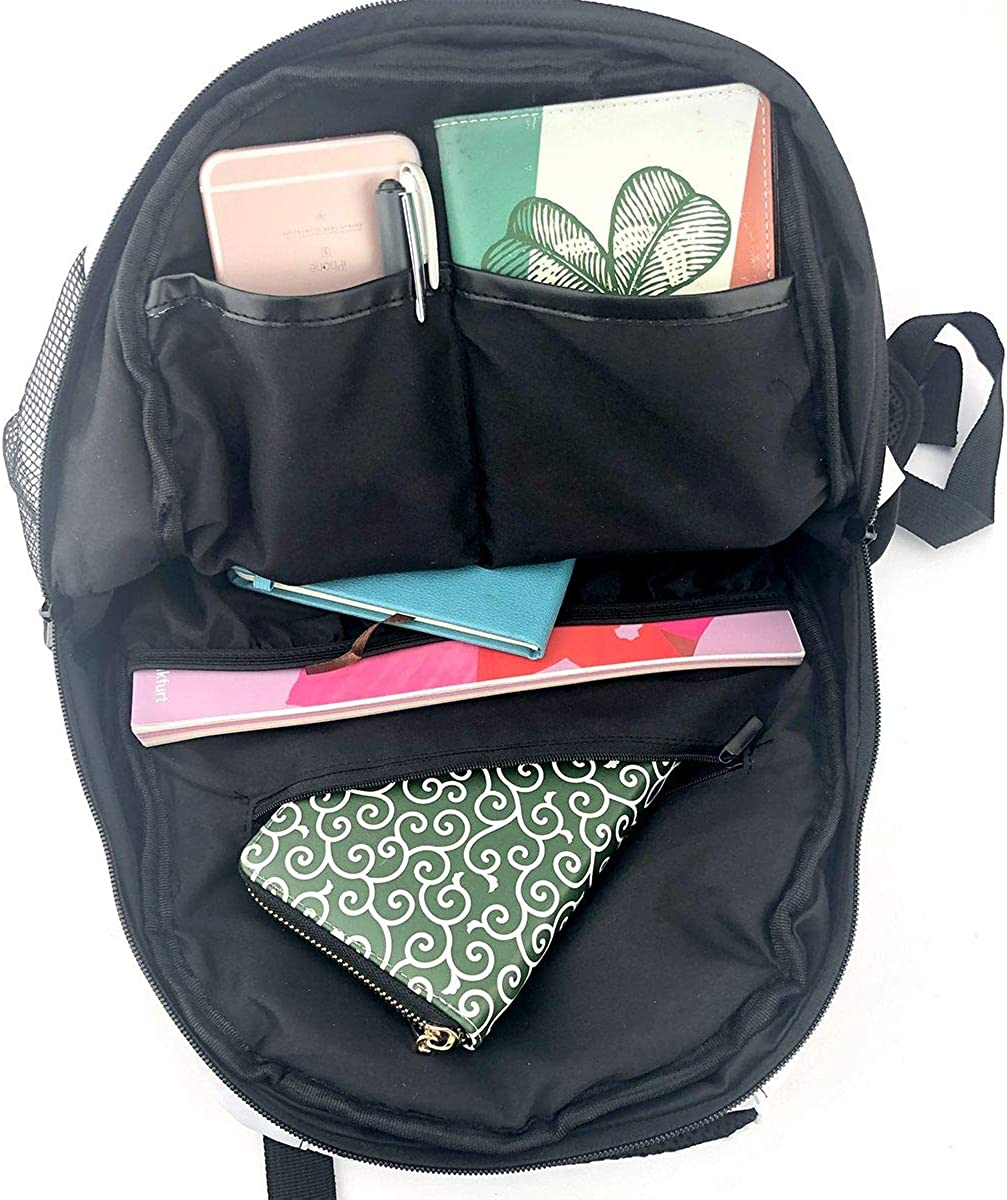 Antique Style Flowers Backpacks College School BookBag Travel Bag Laptop Daypack