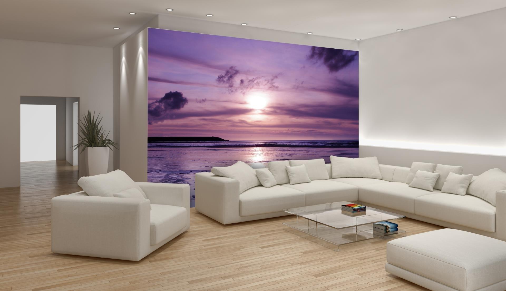 sunset wallpaper amazon co ukpurple sunset wallpaper mural